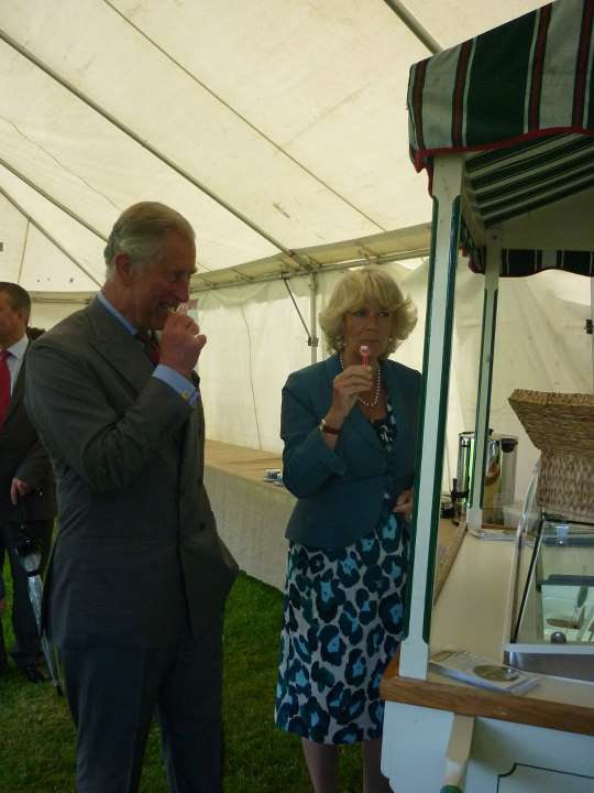 Prince Charles Choosing and Icecream