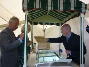 Farmer Ben Serving Prince Charles
